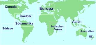 Karte Weltweit Chartern
